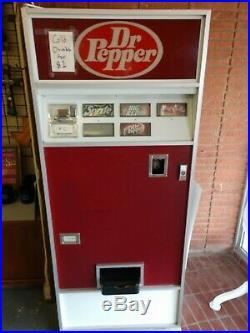 Vintage Dr. Pepper/Coke Soda Cans $1 Coin Vending Machone Dispenser