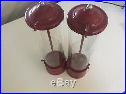 Vintage Dual Flatbush Gumco Penny King Gumball Machine. Rare