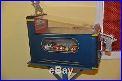 Vintage Duck Hunter Shoot the Duck Penny Gumball Vending Machine