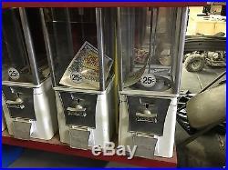 Vintage EAGLE Vending Machine 25 cent Train Engine Display Lot State Fair MALLS