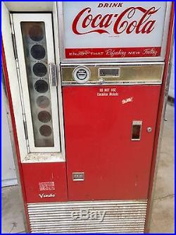 Vintage Eastern Vendo H63A No Canadian Nickels Coke Machine