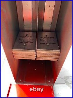 Vintage Esco Radio & TV Stars Card Vending Machine