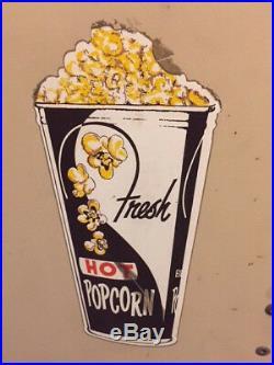 Vintage Fawn Mfg Model 205 Popcorn Warmer Dispenser Coin Op