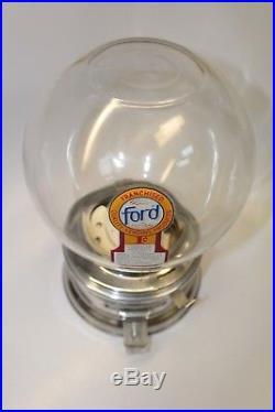 Vintage Ford Gum & Machine Co. Inc. 1 Cent Gumball Machine