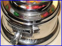 Vintage Ford Gumball Machine One Cent Penny Gum vending antique peanut candy