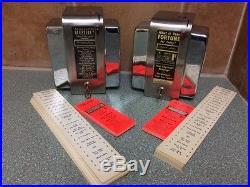 Vintage Fortune Teller Penny Operated Napkin Dispenser
