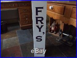 Vintage Fry's Chocolate Vending Machine Unlocked no key