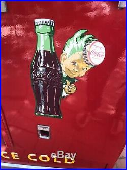 Vintage Fully Restored Early 1960s Coca Cola Coke Machine Cavalier Works Great