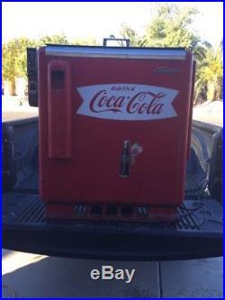 Vintage Glasco Coca Cola Machine Model A30000 GBV-50 For Parts Or Restoration