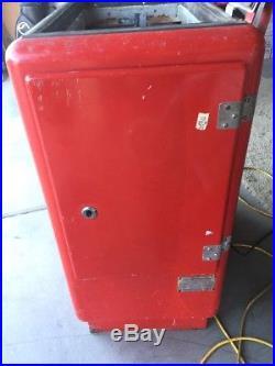 Vintage Glasco Coca Cola Machine Model A30000 GBV-50 For Parts Or