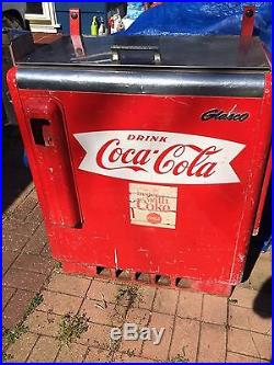Vintage Glasco Coca Cola Machine Original Condition
