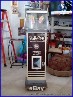 Vintage Gold Medal 210 Automatic Popcorn Maker Vendor