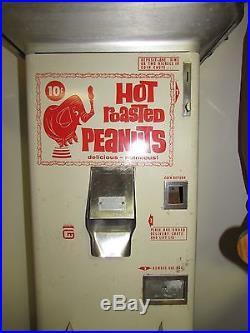Vintage Gold Medal Automatic Peanut Vender Vending Machine Cincinnati OH