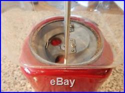 Vintage Gum Ball/Peanut Machine Oak Acorn Vending Coin OP 1 cent