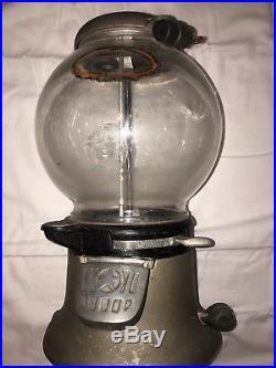 Vintage Gumball Machine Antique Gumball Machine Old Columbus