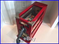 Vintage Gumball Machine with bulls-eye pistol target