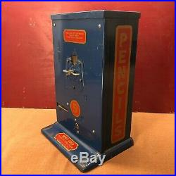 Vintage Harmon Pencil Machine From Indiana School Red & Blue