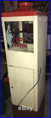 Vintage Hawkeye 1950s Popcorn Warmer 10 Cent Coin Vending Machine LOCAL PICK UP