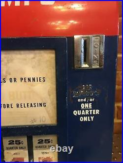 Vintage Hilsum Coin-op Vend-a-stamp Vs-5 Postage Vending