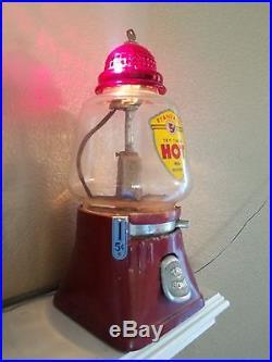 Vintage Hot Peanut Vending Machine