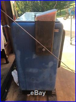 Vintage Ideal 55 Slider DOUBLE DOT Pepsi Machine Dispenser Coin Cola Soda Pop
