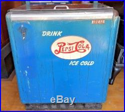 Vintage Ideal 55 Slider Embossed Double Dot Pepsi Machine Coin Cola Soda Pop