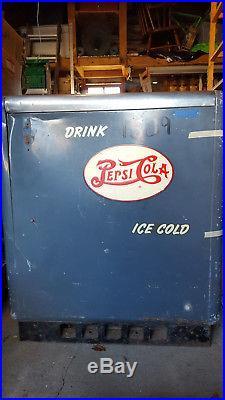 Vintage Ideal 55 Slider (RARE) DOUBLE DOT Pepsi Machine Dispenser Cola Soda Pop