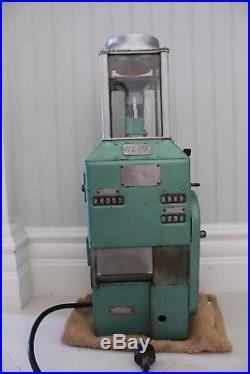 Vintage Johnson Fare Box Model D Motorized Coin Machine Great Condition