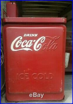 Vintage Junior Spin Top Coca-cola Machine