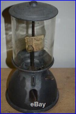 Vintage Langley Primitive Gum Vending Machine