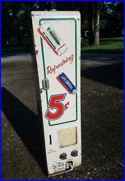 Vintage Lifesavers Wrigleys Gum Candy Vending Machine Dispenser Coin Operated