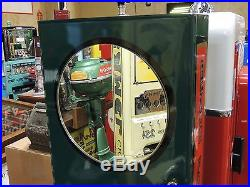 Vintage Lucky Strike Cigarette Vending Machine\Cast Iron Base Working Condition
