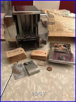 Vintage Madam X Coin-Op Fortune Teller Napkin Holder Trade Stimulator