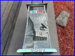 Vintage NORRIS MASTER NO. 77 FANTAIL Penny Nickel Vending Machine