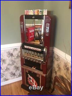 Vintage National Cigarette Machine Restored Beautiful! Rare 7 Pull