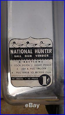 Vintage National Hunter Ball Gum Vendor