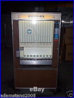 Vintage National Vendors 1971 CM-72 Candy Vending Machine 10 Spot old antique