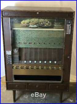 Vintage National Vendors Pull Lever Candy/Cigarette Vending Machine DELUXE-WORKS