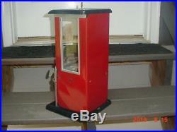 Vintage Norris Master Vending machine Gumball Penny Nickel Gooseneck
