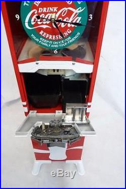 Vintage Northwestern 80 gumball machine Coca cola clock + metal stand $0.99