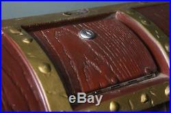 Vintage Northwestern Gumball Vending Machine Long John Silver Treasure Chest