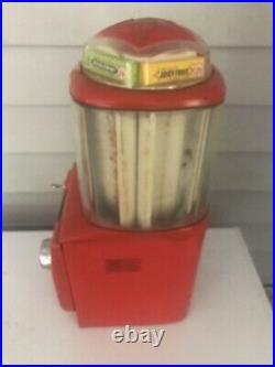 Vintage Northwestern Multi Pack Gum Dispenser Machine 5 Stick Gum Pack