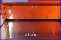 Vintage Northwestern Turn Knob 1 Cent Bubble Gum Machine