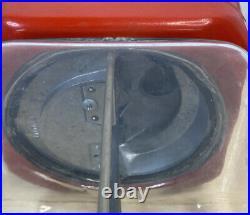 Vintage Oak Acorn 1 cent Glass Globe Gumball Candy Nut vending machine 1950s