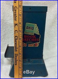 Vintage Ohio Book Matches 1 Cent Vending Machine Counter Style Northwestern