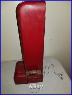 Vintage Ohio Match Box Vending Dispenser Machine 1 Cent With Key RARE