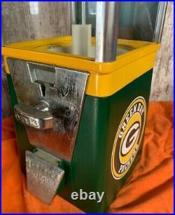 Vintage Older Green Bay Packers Gumball Machine Super Cool Vending