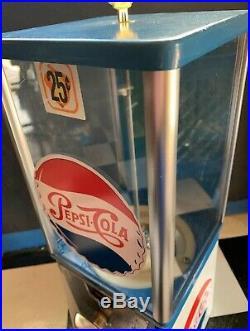 Vintage Older Pepsi Cola Retro Candy Peanuts Not Gumball Machine Super Cool