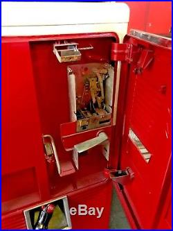 Vintage Original 1950s Coca Cola Westinghouse Vending Machine Coke Advertising