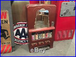 Vintage Original 6 Pull Stoner Junior Candy Vending Machine Jr Coin Op Wall Moun